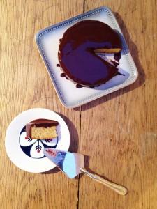 Delicious chocolate pacman