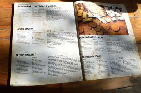 don't yiu waste a single inch 70's cookbook, value for money back then - five recipes in one look