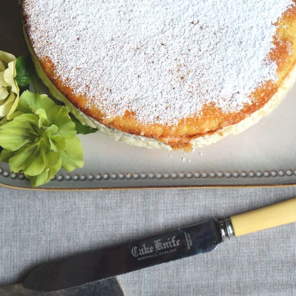 pear mousse cake
