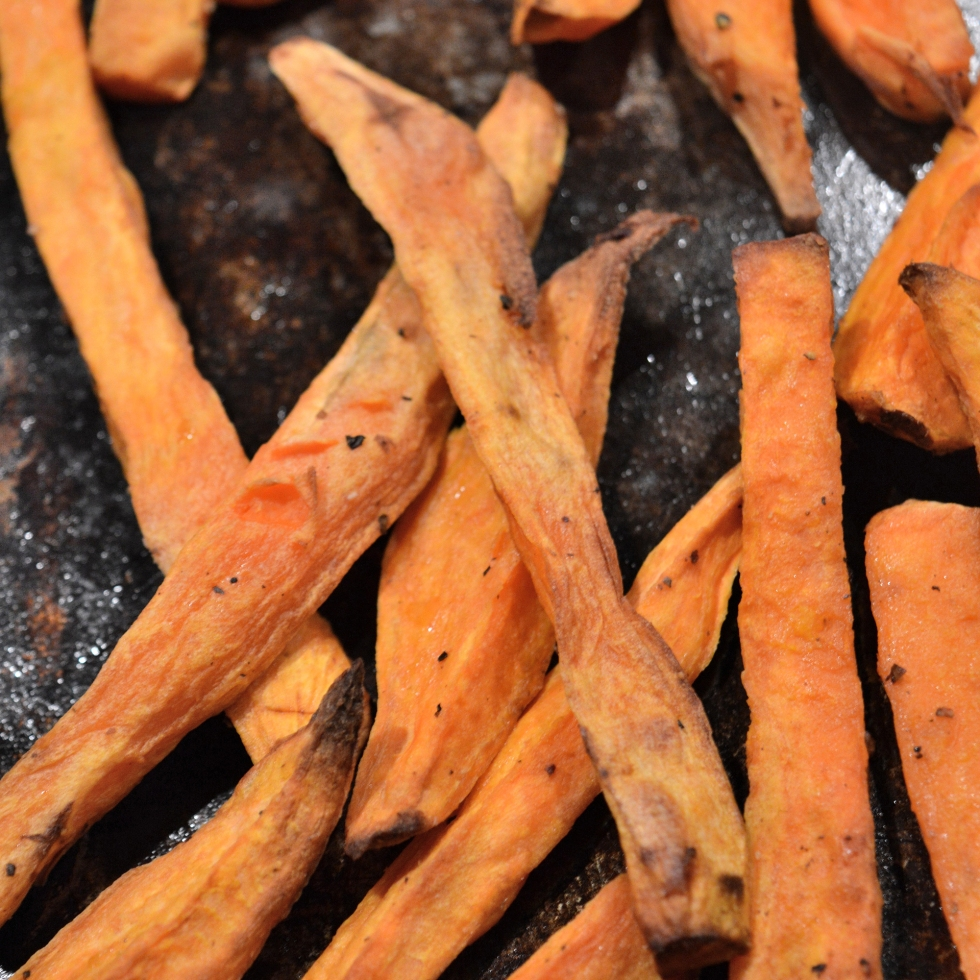 sweet potato fies