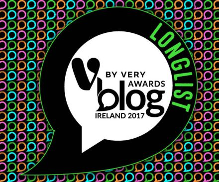 v by very irish blog awards